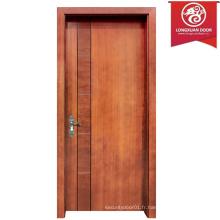 Porte arrière en bois sur mesure, portes battantes composites simples