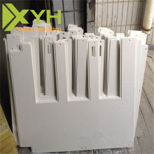 2mm Thickness PVC ABS Component Sheet Size CNC Engraving