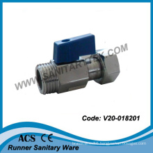 Mini Ball Valve with Loose Nut (V20-018201)