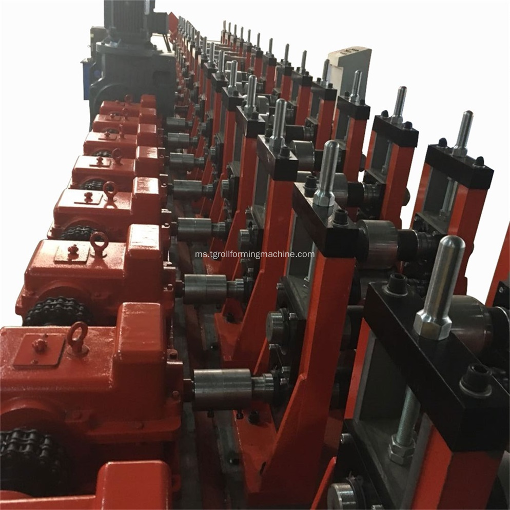 Galvanized Steel Z Channel Cold Roll Forming Machine