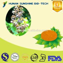 2015 Nuevo certificado orgánico 60% Sanguinarine Chelerythrine / Macleaya Cordata Extracto de fruta en polvo / droga veterinaria