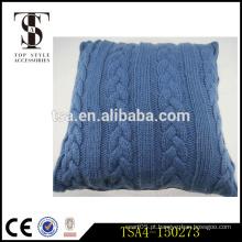Preço de fábrica de tricô bordado coxim almofada chinesa tampa design mais recente