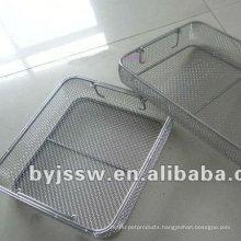 metal mesh screen basket