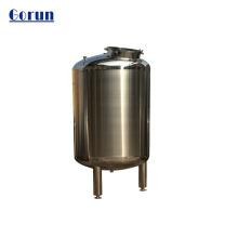 Réservoirs de stockage d'huile d'olive sanitaire de haute qualité 500L en acier inoxydable