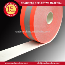 Fire resistant safety reflective warning fabric