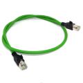 LAN de red de parche Ethernet RJ45 Cat5e con cable