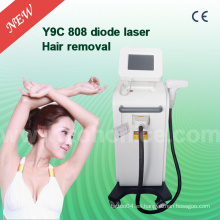 Y9c Permenant 808nm diodo láser permanente depilación máquina con gran tamaño de punto