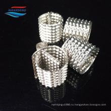 Металлическая сетка Диксон кольцо для лабораторных и Ректификационная колонна
