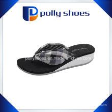 Hot Sale Female Thick High-Heeled Platform Flip-Flops Sandals