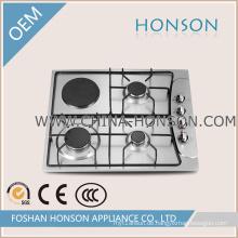 304/201 Edelstahl Elektrische Kochplatte Emaille Gasherd