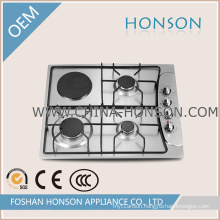 304/201 Stainless Steel Electric Hotplate Enamel Gas Hob