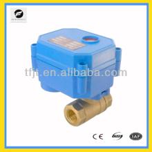 Válvula controlada por actuador electrónico DN10 Sin control manual e indicador para sistema de filtración