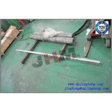 55mm Extrusão parafuso para extrusora de plástico
