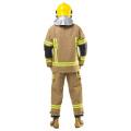 Uniforme de pompier avec vêtements de travail à bande réfléchissante