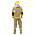 Uniforme de bombero con ropa de trabajo con cinta reflectante