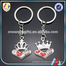 Paare Paare Keychain, Herz Keychain, nettes Keychain