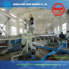 PEHD acier renforcé sinueuse équipement de production de tuyaux