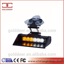 6W Security Vehicles Led Visor Strobe Warning Lights 12V GXT-601