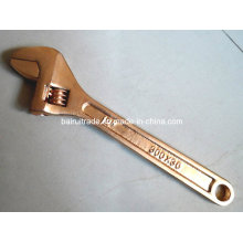 Anti Spark Quick Adjustable Wrench Spark Free Brass Adjustable Spanner