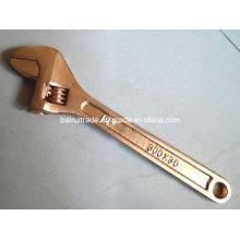 Chave ajustável de bronze livre da faísca sem chave ajustável da anti faísca