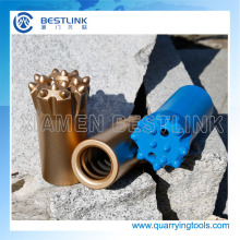Thread Drill Button Bits for Marble Quarry