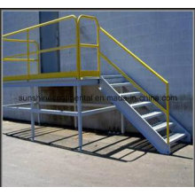 High Quality Used Industrial Meatal Fabricated Steel Staircase