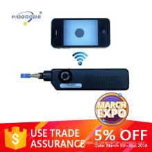 microscópio de inspeção de fibra óptica com wi-fi
