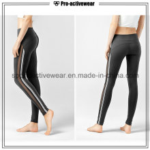 OEM 2016 High Quality Quick Drying Stretch Fitness Jogging Mesh Women Yoga Pants