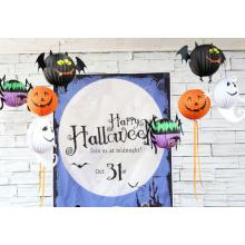 Halloween stereoscopic paper hang