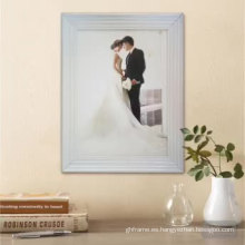 Ventaja precio colgante de pared blanco marco de imagen
