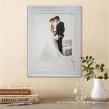 Tenture murale cadre photo blanc prix avantage