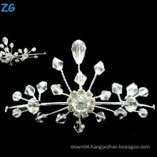 Luxurious small queen tiara, small hair tiaras and crowns, girls dance headpieces