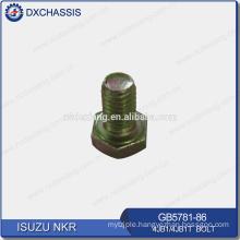 Genuine NKR 4JB1 Bolt GB5781-86