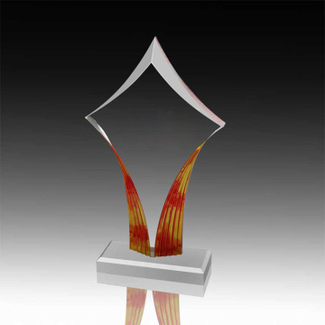 Wyczyść Acrylic Retirement Awards i Trophy Online