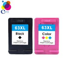2020  Remanufactured  ink cartridge for HP 63xl  color black  for Deskjet  2130 3630 4520 1111 4650 5740