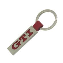 Personalizado promocionais metal couro chaveiro (f3060)