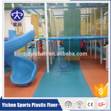 Eco-Friendly anti-static treatment cartoon kindergarten pvc floor