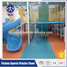 Eco-Friendly anti-estática tratamento dos desenhos animados do jardim de infância piso de pvc