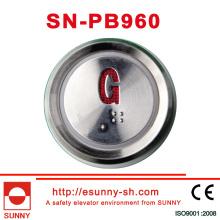 Bouton-poussoir à levage lourd (CE, ISO9001)