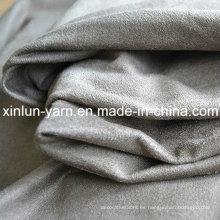 Chaqueta de zapato de alta calidad de tela de la cubierta del ante del sofá