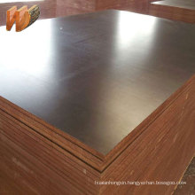 4x8 18mm cheap price finger jointed black film faced plywood for construction concrete formwork