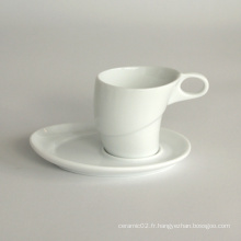 Ensemble de tasse de café en porcelaine (10CD13664)
