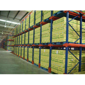 Q235B Pallet Storage Shelves For Handling Equipment