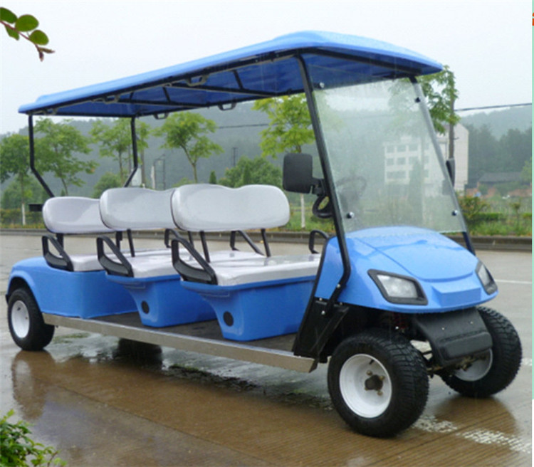 Top kualitas hotel resort golf cart bus