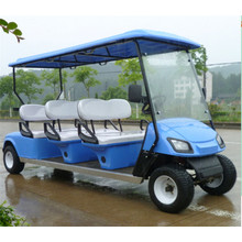 Best Price for 23 Seat Electric Shuttle Bus Top quality hotel resort golf cart bus supply to Romania Manufacturers