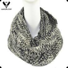 Invierno de acrílico de punto para hombres cuello bufanda