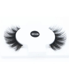 Natural Looking Hand-Made Private Label Lashes 3D 5D 25mm Faux Mink Strip Eyelashes
