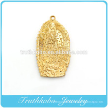 Высокое качество мода Кристиан плакировкой вакуума золота из нержавеющей стали Сан-Бенито религиозных Девы Марии подвеска кулон ТКБ-P048