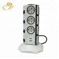Household Appliances Surge Protection Usb Adapter Vertical Socket