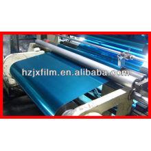 Película metalizada azul de PET